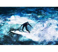 Surfing as a Summer Sport Photographic Print