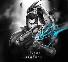League of Legends - Yasuo by leagueofposters