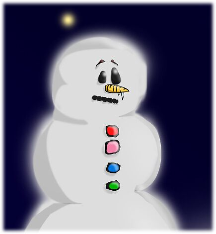The Ever So Sad Snowman by Lyngsholm