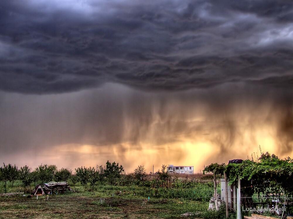 Burning Rain by Luca Mancinelli