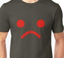 Sad Minifig Face Unisex T-Shirt