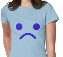 Sad Minifig Face  Womens Fitted T-Shirt