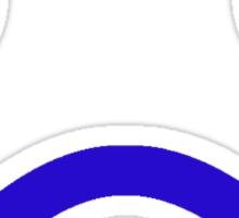 Sad Minifig Face  Sticker