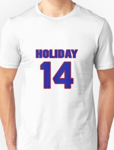 Basketball player Justin Holiday jersey 14 T-Shirt