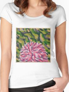 The Summer Flower Women's Fitted Scoop T-Shirt