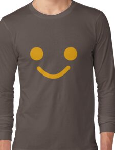 Smiling Minifig Face  Long Sleeve T-Shirt