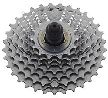 Bike Sprocket on White by etienjones