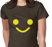 Smiling Minifig Face Womens Fitted T-Shirt