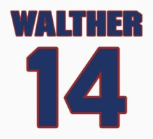 Basketball player Paul Walther jersey 14 by imsport