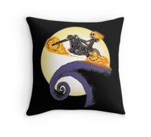 A Ride Before Christmas. Throw Pillow