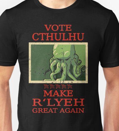 Vote Cthulhu Unisex T-Shirt