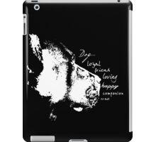 Dog iPad Case/Skin