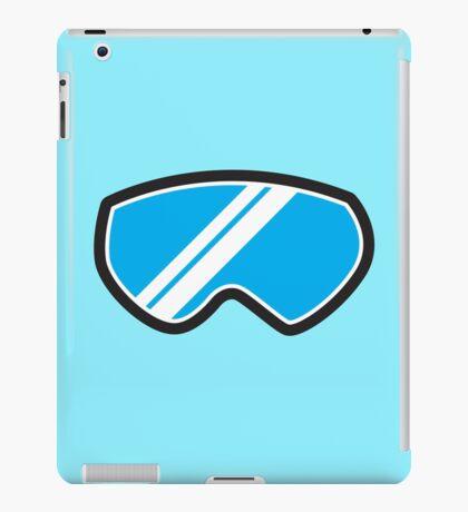 Snow goggles winter iPad Case/Skin
