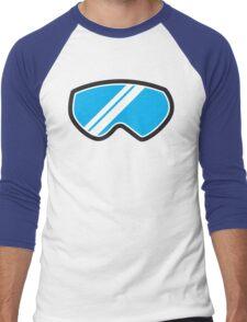 Snow goggles winter Men's Baseball ¾ T-Shirt