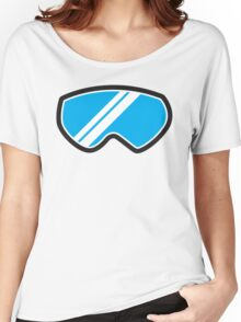 Snow goggles winter Women's Relaxed Fit T-Shirt