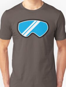 Snow goggles winter Unisex T-Shirt