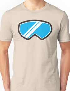 Snow goggles winter Unisex T-Shirt