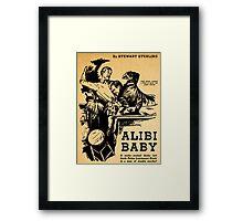 Stewart Sterling - Alibi Baby Framed Print
