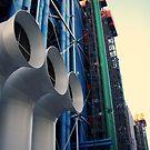 Centre Pompidou by Bjørn Gjelsten