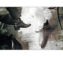 boots backstage Photographic Print