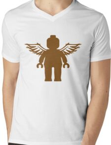 ANGEL MINIFIG Mens V-Neck T-Shirt