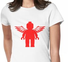 ANGEL MINIFIG  Womens Fitted T-Shirt