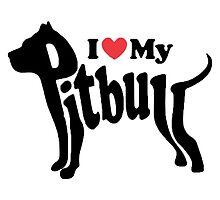 I & My Pitbull by zalfotarum