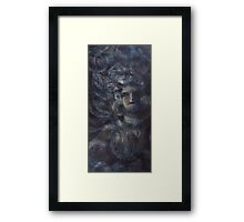 The celestial nymph (The Night Dancer) Framed Print