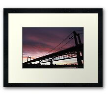 Tamar Dawn Framed Print