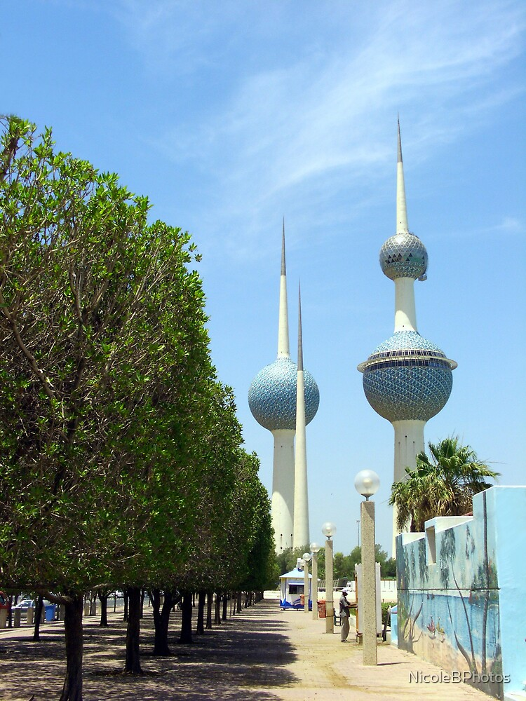 Kuwait Towers by NicoleBPhotos