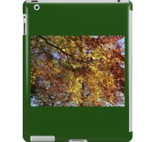 Mallorn leaves in Lothlorien - one for LOTR followers iPad Case/Skin