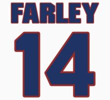 Basketball player Dick Farley jersey 14 by imsport