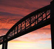 Brunel Sunrise by Wayne Holman