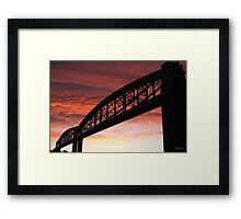 Brunel Sunrise Framed Print