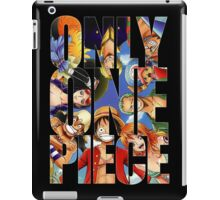 Only One Piece iPad Case/Skin