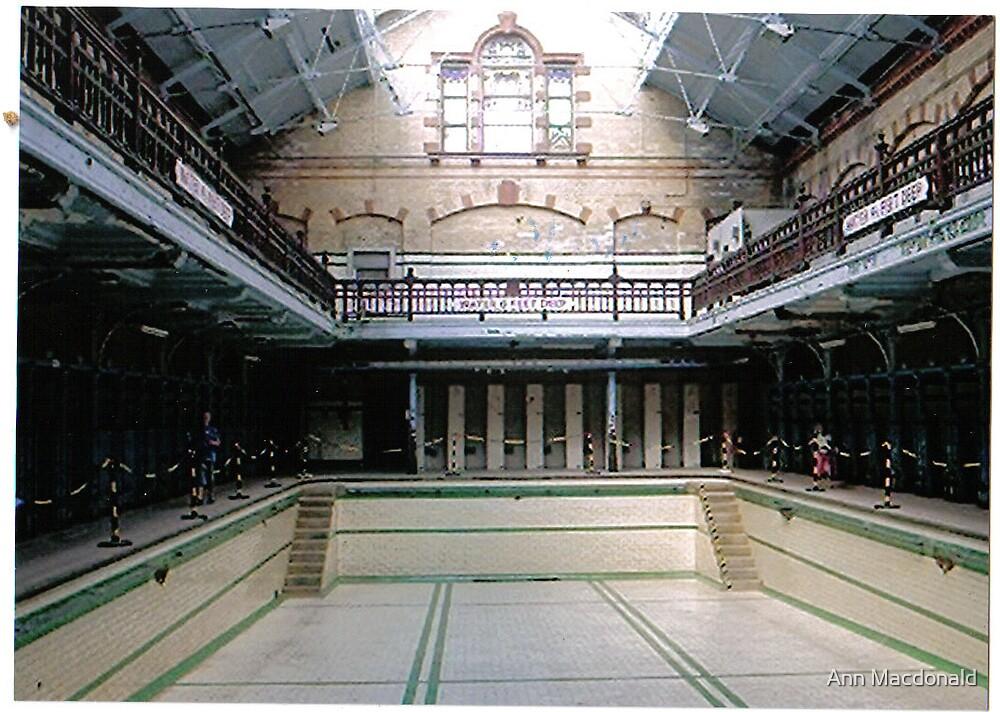 Main pool Victoria Baths Mancester by Ann Macdonald