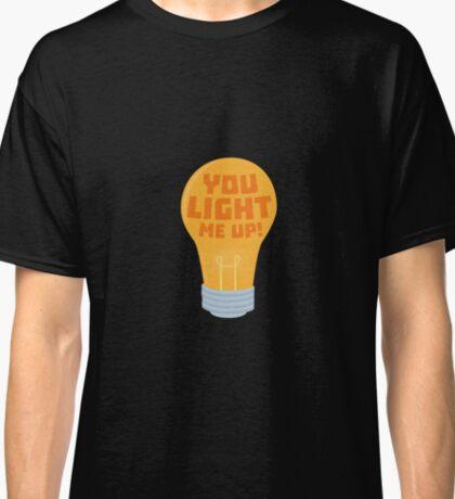 Bulb you light me up Ryjv6 Classic T-Shirt