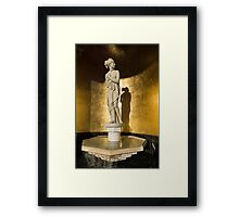 The Marble Lady and Her Shadow Framed Print