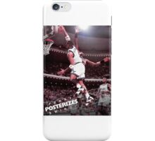 Penny Posterizes Ewing! iPhone Case/Skin