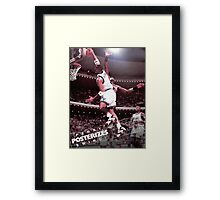 Penny Posterizes Ewing! Framed Print
