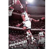 Penny Posterizes Ewing! Photographic Print