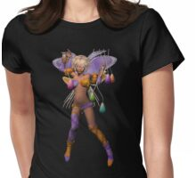 Moon Dancer Womens Fitted T-Shirt