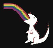 Rainbow Dinosaur by Aliesha Hamrick