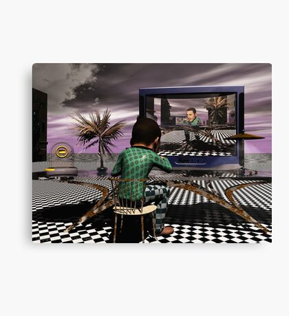 Dinner for Too Canvas Print