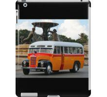 Malta Bus iPad Case/Skin