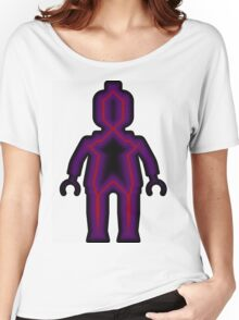 Alien Minifig Xray Women's Relaxed Fit T-Shirt