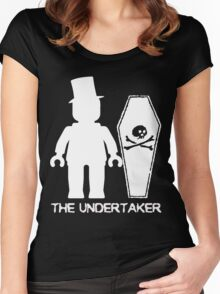 """THE UNDERTAKER""  Women's Fitted Scoop T-Shirt"