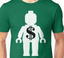 Minifig with Dollar Symbol Unisex T-Shirt