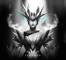 League of Legends - Shyvana by leagueofposters
