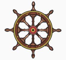 Ships Wheel by Margaret Zita Coughlan